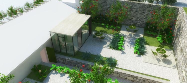 Terasa ugostiteljskog objekta - 3D vizualizacija