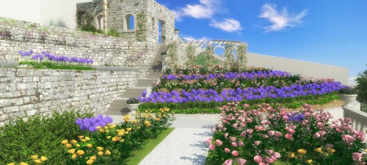 Obnova ružičnjaka - 3D vizualizacija
