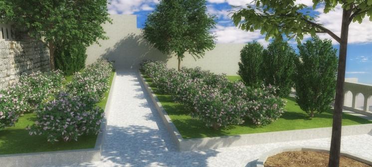 Zona lamelija - 3D vizualizacija